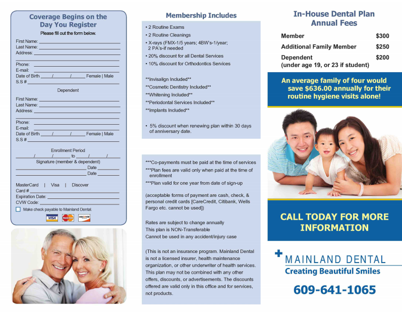 Marvelous In House Dental Insurance Plans Gallery Best
